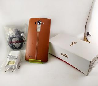 LG G4 32gb Couro Tela Full Hd 5,5 Vitrine