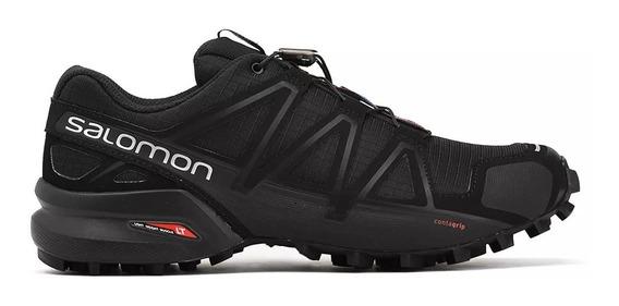Salomon Zapatilla Trail Running Hombre Speedcross 4 Negro