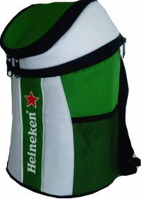 Mochila Térmica - Cerveja Heineken - Porta-barril 5 Lts