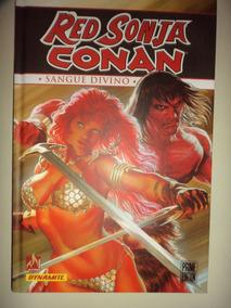 Red Sonja Conan Sangue Divino Mythos Books 2017 Excelente