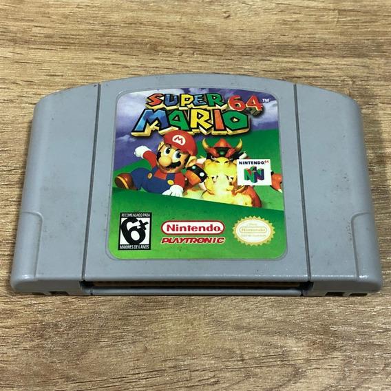 Fita Super Mario 64 Nintendo 64 N64 Cartucho Original