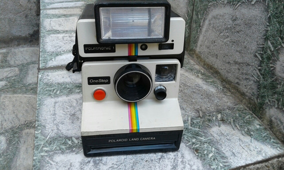 Máquina Fotografica Polaroid