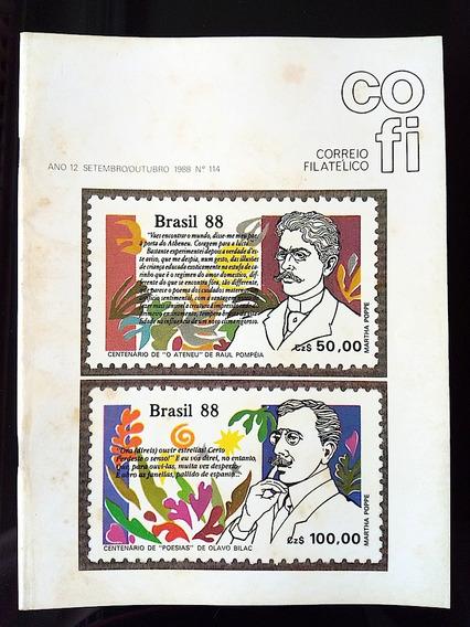 Revista Cofi Nº 114 Ano 1988 Literatura Olavo Pompeia
