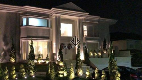 Casa Com 4 Suites À Venda, 685 M² No Residencial 18 Do Forte Em Alphaville - Santana De Parnaíba/sp - Ca0670