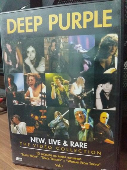 Deep Purple New Live & Rare Dvd Brazil