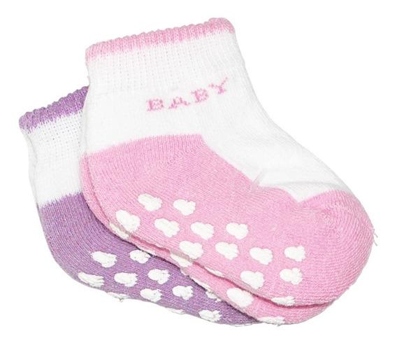 Calcetas Antiderrapantes Para Bebé Niño Y Niña Gleytor 000 0-1 Y 1-2