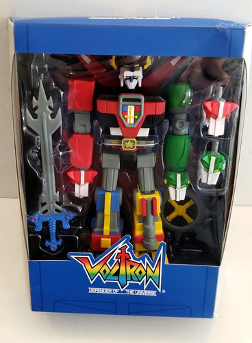 Voltron Defender Of The Universe Súper 7 Detalles Dreddstore