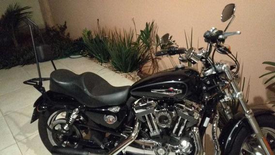 Harley Davidson Sportster Xl 1200 Custom Troco Por Himalayan