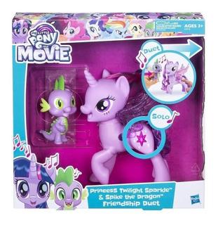 Twilight Spike Cantan En Duo My Little Pony Original Hasbro