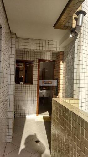 Apartamento Com 3 Dormitórios À Venda, 123 M² Por R$ 790.000,00 - Parque São Diogo - São Bernardo Do Campo/sp - Ap4308