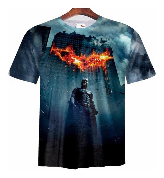 Remera Sublimada Batman Caballero Oscuro Ranwey Pr086