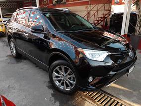 Toyota Rav4 Limited Awd 4cil Rin 18 Piel Qc Gps 2016 Negro