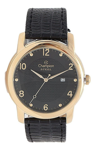 Relógio Champion Masculino Dourado Ca21160p