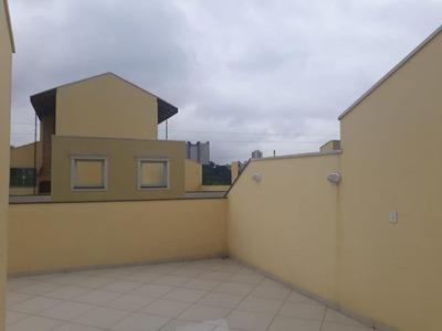 Cobertura Com 2 Dormitórios À Venda, 136 M² Por R$ 400.000 - Paraíso - Santo André/sp - Co1001
