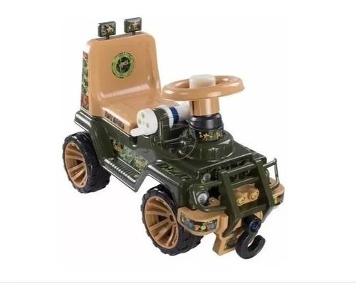 Montable Jeep Jungla Carro Juguete Niños