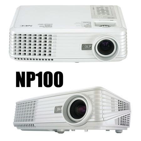 Projetor Nec Np100 - Usado + Projetor Nec Com Defeito.