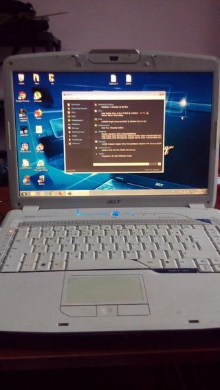 Notebook Acer Core 2 Due - Funcionado Com Alguns Detalhes
