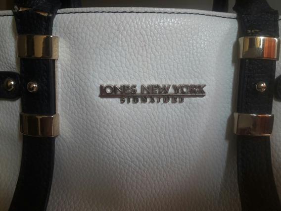 Cartera De Cuero Jones New York Signature Nueva! Original!