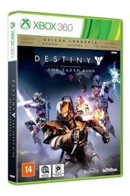 Destiny The Taken King Edição Lendária Xbox 360 Mídia Física
