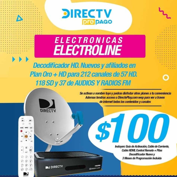 Decodificador Directv Hd Nuevo !!