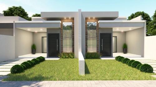Casa Com 3 Dormitórios À Venda, 80 M² Por R$ 330.000,00 - Jardim Residencial Cataratas - Foz Do Iguaçu/pr - Ca0045