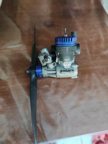 Motor Ngh 9cc A Gasolina De Posto 2t Seme-novo