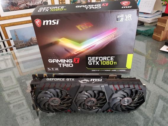 Placa De Video Geforce Gtx 1080 Ti Msi Gaming X Trio