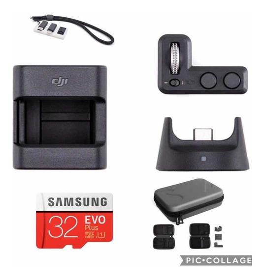 Dji Osmo Pocket Kit Expansion + Bag + Placa Pra Conectores
