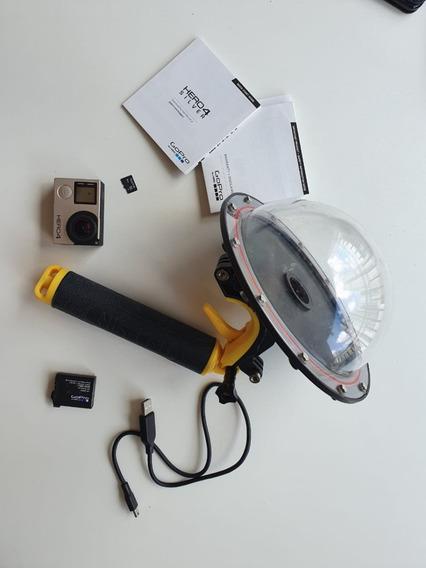 Gopro Hero 4 Silver - Lcd Embutido E Dome