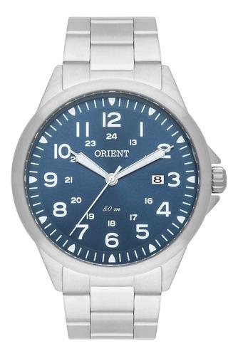 Imagem 1 de 2 de Relógio Orient Masculino Analógico Prata Mbss1380 D2sx