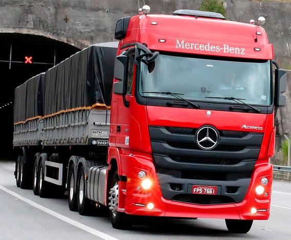 Caminhão Mercedes-benz Actros 2651 - Carta Contemplada Caixa