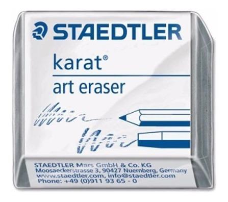 3x Borracha Limpa Tipo Karat Staedtler Grafite Pastel Carvão