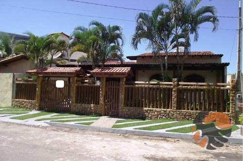 Casa Residencial Com 3 Quartos À Venda, 381 M² - Enseada Azul - Guarapari/es - Ca0171
