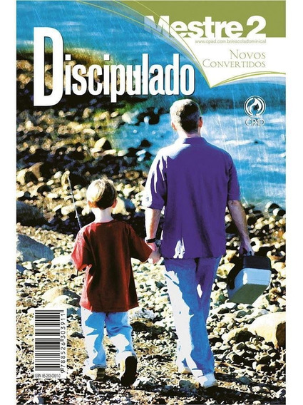Revista Discipulado / Novos Convertidos Vol. 2 - Mestre