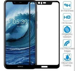 Vidrio Templado Full Cover Nokia 5.1 Plus - Otec