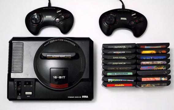 Super Pack Completão Mega Drive Todos Os Jogos + Emulador