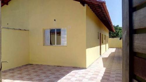 Casa Nova No Jardim Suarão Com Laje, Em Itanhaém 4975