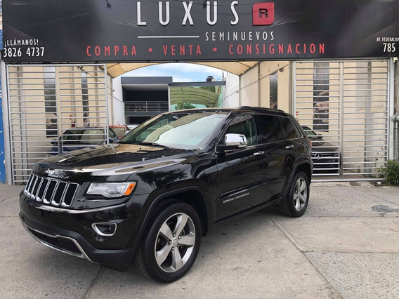 Jeep Grand Cherokee 3.6 Limited Lujo V6 4x2 At