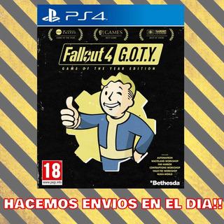 Fallout 4 Goty Ps4 - Voces En Español !! | Tenelo Ahora!