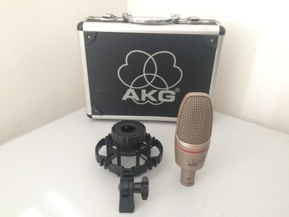 Microfone Akg C3000b - Original (maleta E Shock Mount).