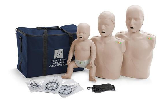Kit Entrenamiento Maniquí Rcp Prestan 1 Adutlo 1 Bebe 1 Niño