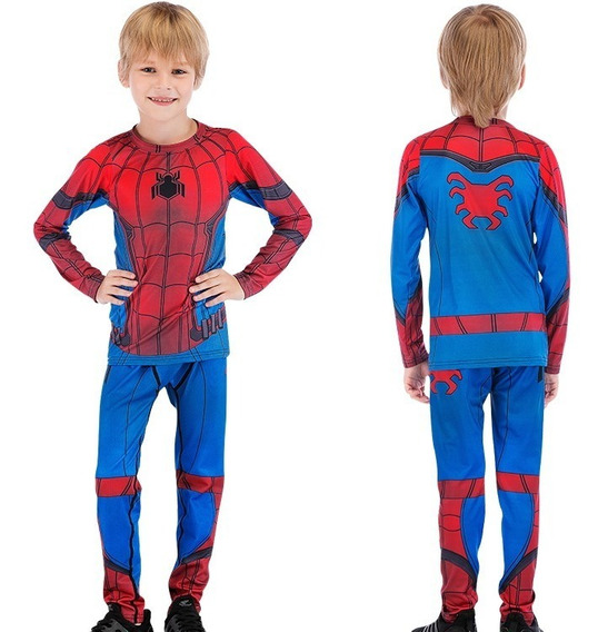 Traje Niño Spiderman Hombre Araña Marvel Avengers Heroe