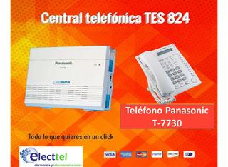 Central Telefonica Panasonic Incluye Teléfono T-7730 E Iva