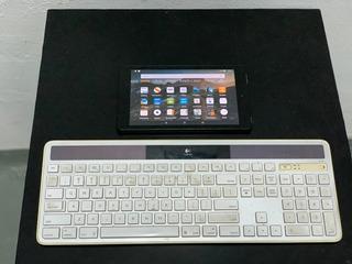 Tablet Amazon Kindle Fire 7 Hd Usada 16 Gb + Teclado