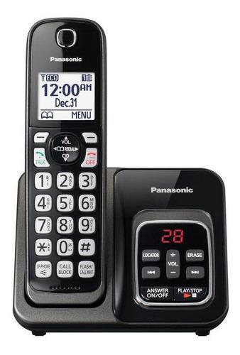 Imagen 1 de 2 de Teléfono inalámbrico Panasonic KX-TGD530 negro