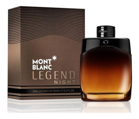 Mont Blanc Legend Night 100 Ml Edp Spray De Mont Blanc