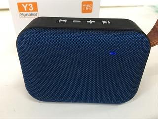 Parlante Portátil Potente 3w Bluetooth Usb Microsd Radio Fm