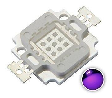 10 Chip 10w Uv 12 Ultra Violeta Aquário Serigrafia