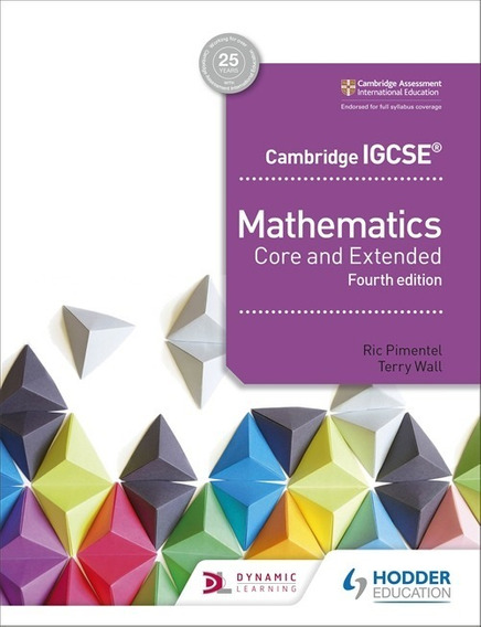 Cambridge Igcse Mathematics - Core And Extended - 4th Ed