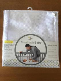 Tela Protetora Para Grade De Berço Breathablebaby